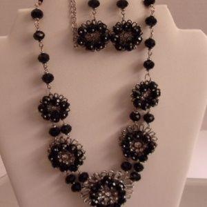 Tamina crystal Necklace.